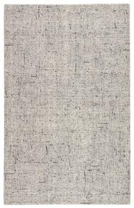 Light Grey, Light Blue (SLX-02) Salix Macklin Contemporary / Modern Area Rugs