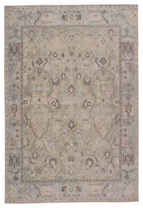 Green, Blue (KND-09) Kindred Avin Traditional / Oriental Area Rugs