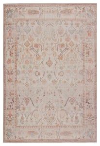 Blush, Cream (KND-11) Kindred Avin Traditional / Oriental Area Rugs