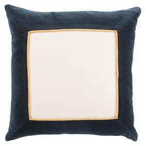Navy, Cream (EMS-04) Emerson Pillow Hendrix Contemporary / Modern Pillow