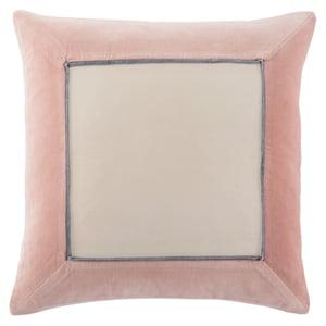 Blush, Cream (EMS-07) Emerson Pillow Hendrix Contemporary / Modern Pillow