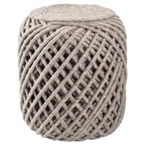 Grey (SCP-02) Scandinavia Pouf Anneli Solid Poufs
