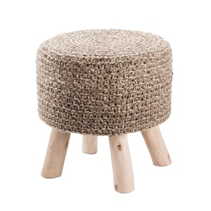 Taupe (WES-02) Westport Stool Montana Solid Poufs