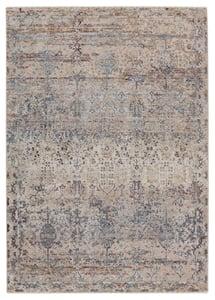 Beige, Blue (VLN-10) Valentia Marisol Vintage / Overdyed Area Rugs