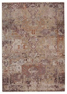 Gold, Maroon (VLN-11) Valentia Thessaly Traditional / Oriental Area Rugs
