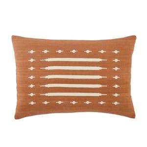 Terracotta, Cream (EMN-07) Emani Pillow Ikenna Southwestern Pillow