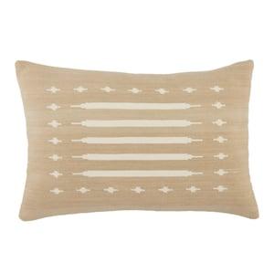 Taupe, Cream (EMN-08) Emani Pillow Ikenna Southwestern Pillow