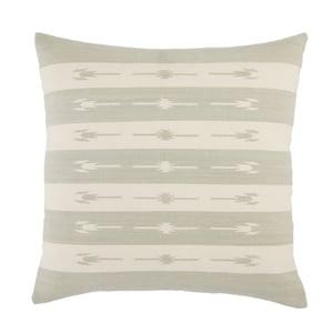 Light Grey, Cream (EMN-01) Emani Pillow Vanda Southwestern Pillow