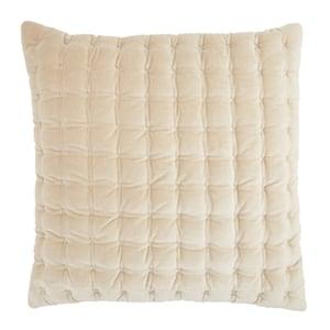 Beige, White (LXG-03) Lexington Pillow Winchester Solid Pillow