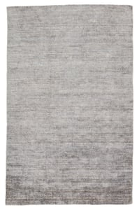 Silver, White (LNT-01) Linnet Ardis Solid Area Rugs