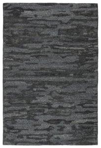Blue, Gray (POR-01) Portage Fjord Contemporary / Modern Area Rugs