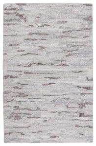 Grey, Ivory (POR-03) Portage Fjord Contemporary / Modern Area Rugs