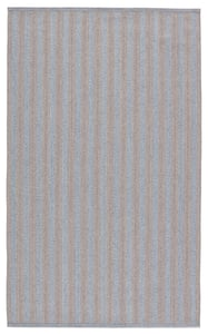 Light Blue, Taupe (BRO-03) Brontide Topsail Striped Area Rugs