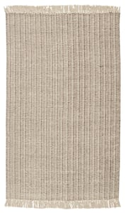 Cream, Taupe (MMR-02) Morning Mantra Poise Bohemian Area Rugs