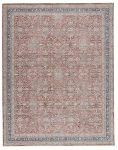 Red, Grey (WNO-04) Winsome Brinson Vintage / Overdyed Area Rugs