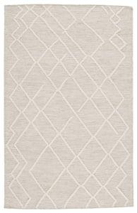 Light Grey, Ivory (PLT-01) Plateau Moab Moroccan Area Rugs