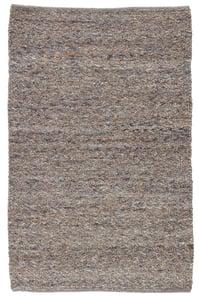 Grey, Brown (QTM-01) Quiet Time Hadren Contemporary / Modern Area Rugs