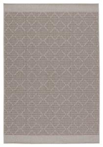 Grey, Taupe (TAH-05) Tahiti Motu Contemporary / Modern Area Rugs