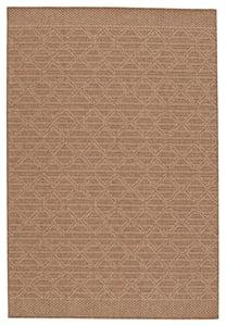 Light Brown, Beige (TAH-12) Tahiti Motu Contemporary / Modern Area Rugs