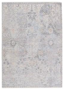 Grey, Beige (BLA-04) Ballad Seraph Vintage / Overdyed Area Rugs