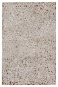 Beige, Bronze (MLI-03) Malilla by Nikki Chu Kimball Animals / Animal Skins Area Rugs