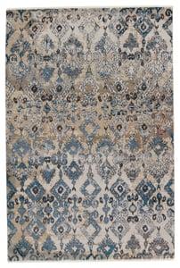 Blue, Tan (SBC-02) Sanaa by Nikki Chu Asani Vintage / Overdyed Area Rugs