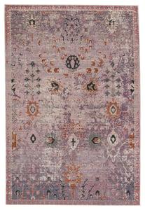 Purple, Gold (SWO-07) Swoon Elva Vintage / Overdyed Area Rugs