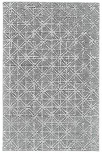 Grey, Silver Hartford 8R353 Contemporary / Modern Area Rugs