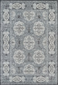 Steel Blue (ALX-10) Alexandria Aletha Traditional / Oriental Area Rugs