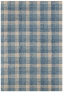 Blue (TRA-11) Tartan Taramarie Country Area Rugs