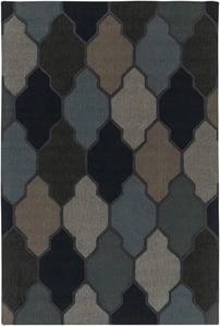 Blue (AWAH-2042) Pollack Morgan Contemporary / Modern Area Rugs