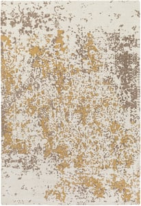 Beige, Gold (EGT-3077) Egypt Lara Abstract Area Rugs
