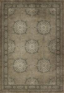Distressed Warm Grey - Daeva Persian Bazaar Vintage Vinyl Tabriz Bohemian Area Rugs