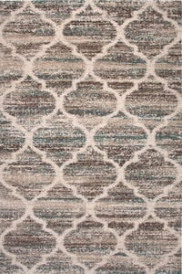 Blue, Brown, Tan (2532) Garrett Jupiter Contemporary / Modern Area Rugs