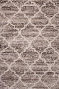 Ivory, Tan, Brown (2533) Garrett Jupiter Contemporary / Modern Area Rugs