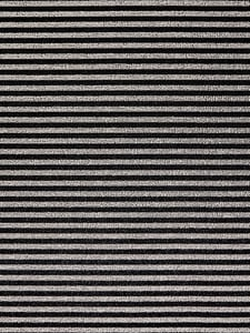 Tuxedo (003) Shag Breton Stripe Striped Area Rugs