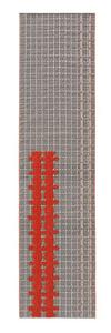 Grey Bandas Individual E Contemporary / Modern Area Rugs
