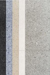 Grey, Beige, Blue (Volcano) Nuances Line Contemporary / Modern Area Rugs