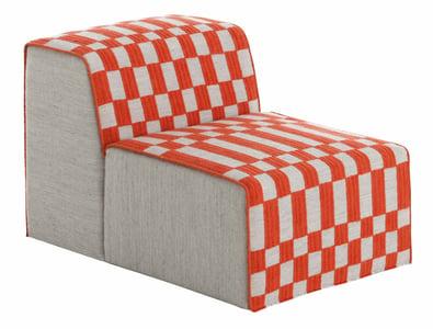 Orange Bandas Space B Contemporary / Modern Poufs
