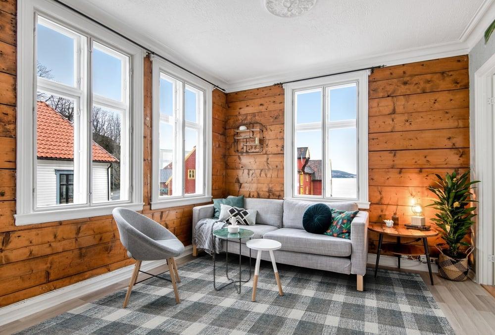 Modern Farmhouse Beauty - Rustic Living Room Ideas