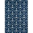 Product Image of Beach / Nautical Navy Area Rug