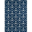 Product Image of Beach / Nautical Navy Area Rug