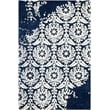 Product Image of Contemporary / Modern Navy, Ivory (D) Area Rug