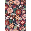 Product Image of Floral / Botanical Navy Area Rug
