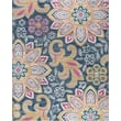 Product Image of Floral / Botanical Pink, Blue, Orange (JSM4342) Area Rug