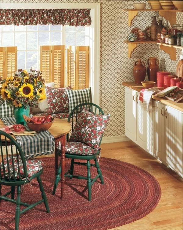 Cottage Dining Room Rug Ideas