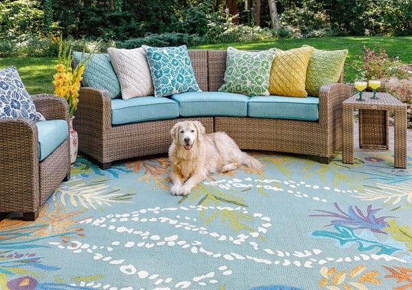 Coastal Comfort Outdoor Rug Ideas