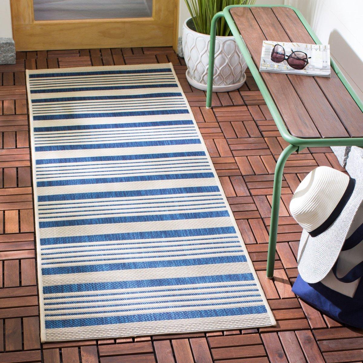 Striped Outdoor Decor Ideas