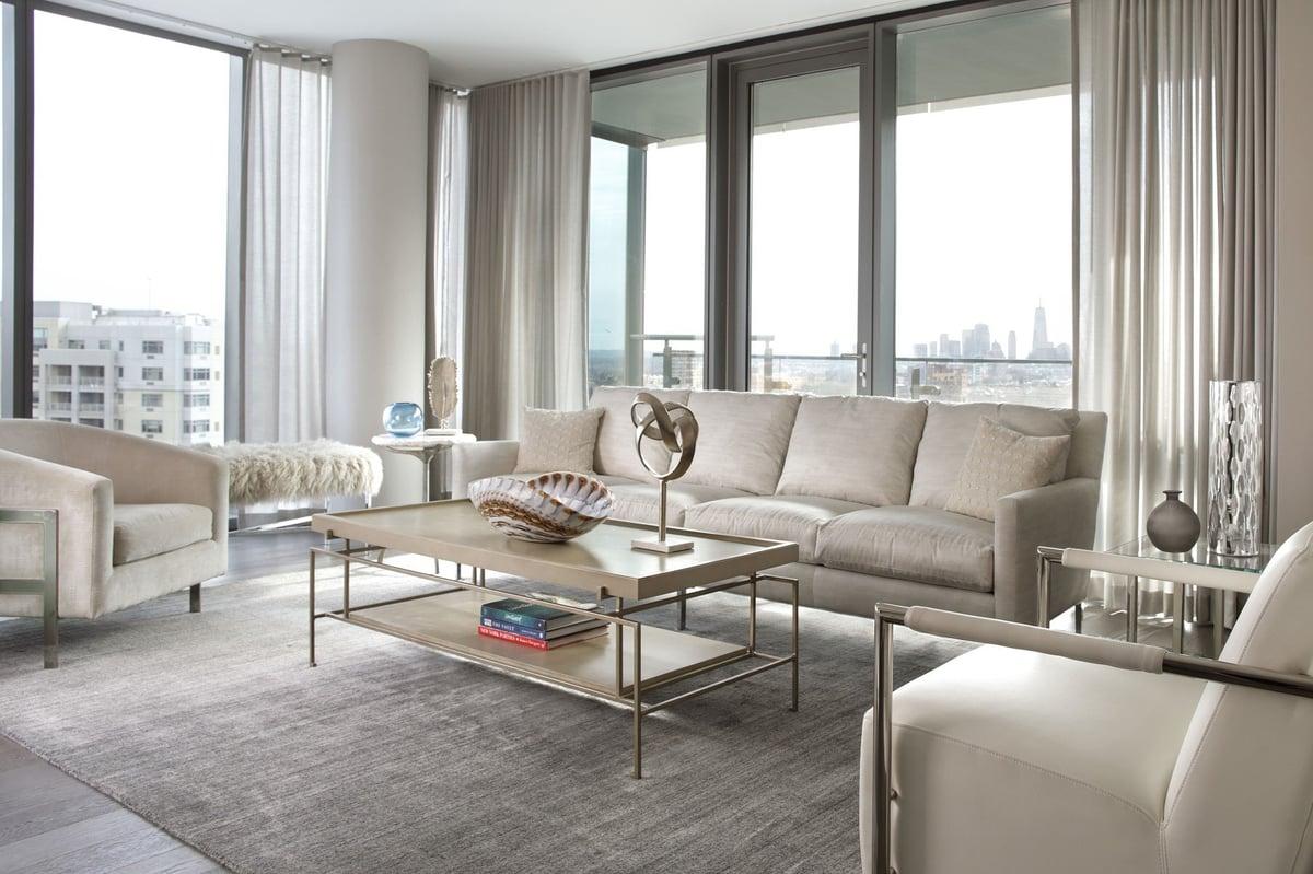 Surprisingly Neutral - Formal Living Room Decor Ideas