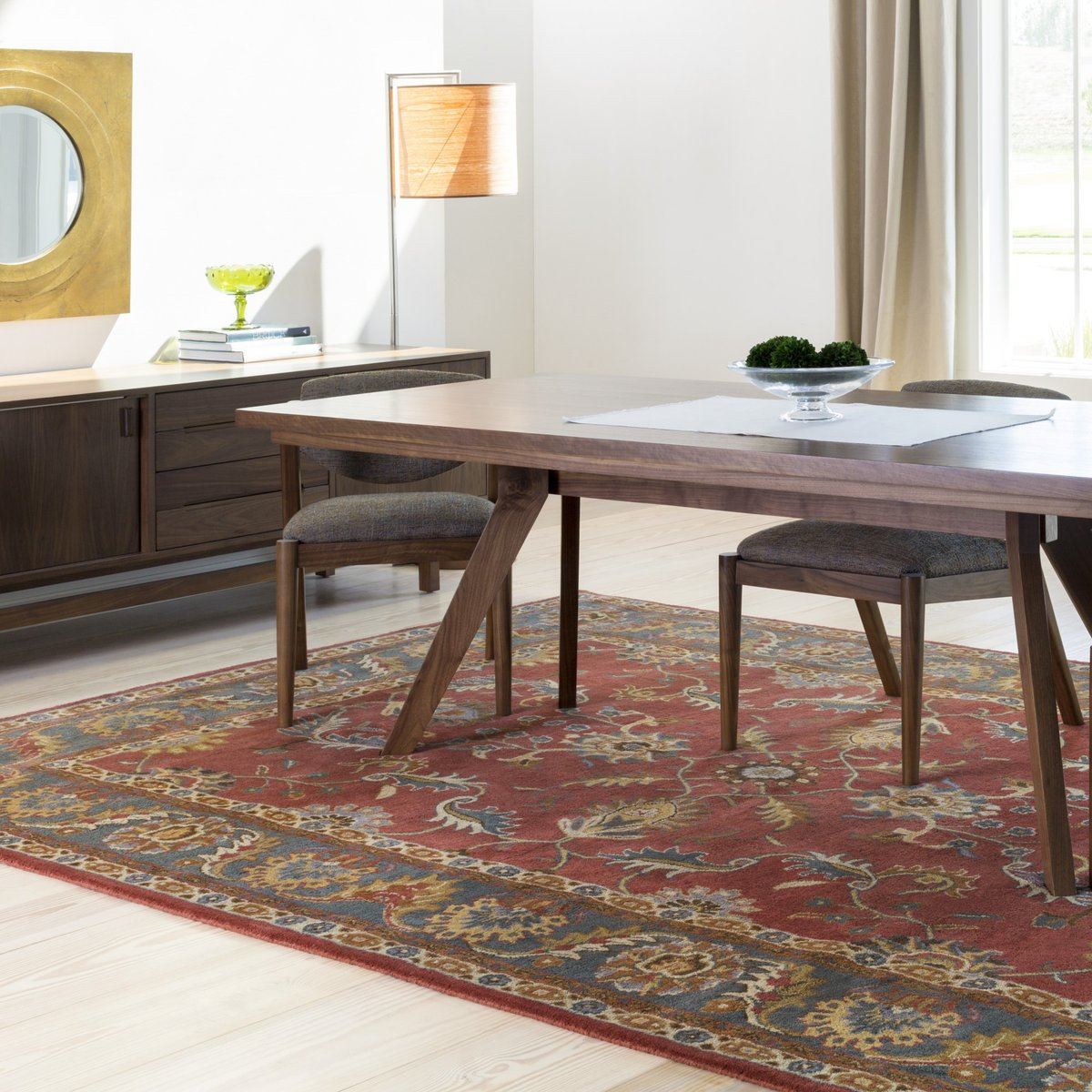 Classic Traditional Dining Room Rug Ideas